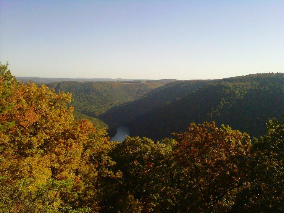It looks like there's some good views at Coopers Rock, WV! Photo: malva