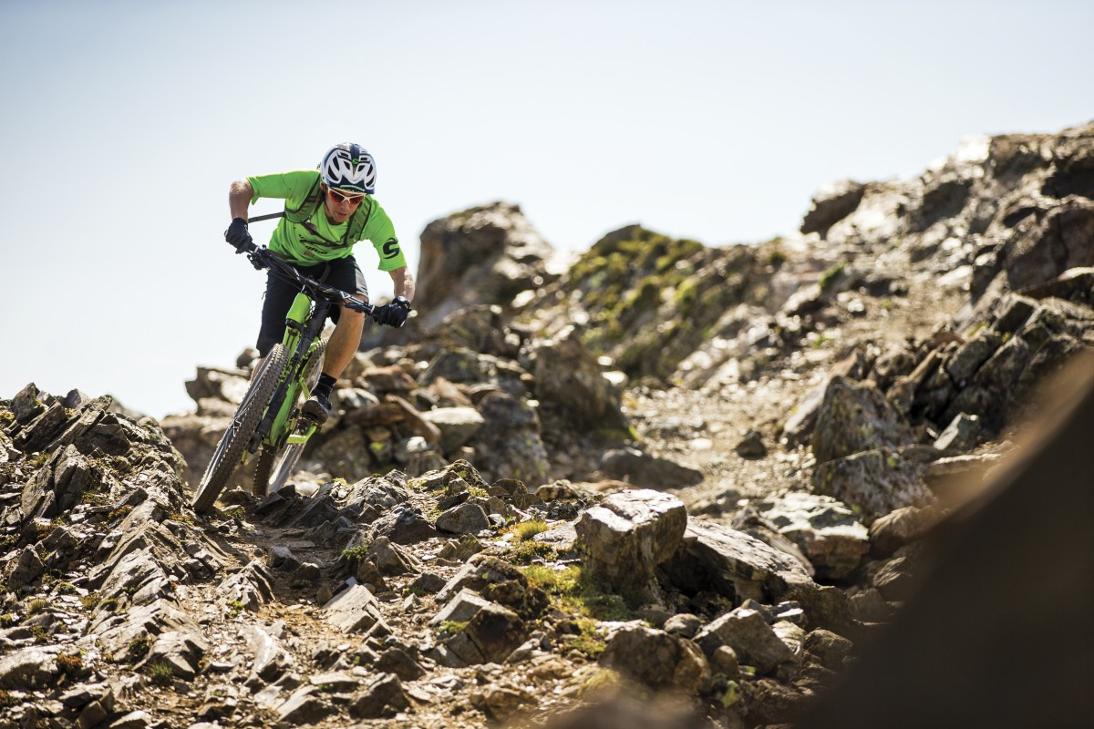 Jerome Clementz on the new Habit (photo: Cannondale)