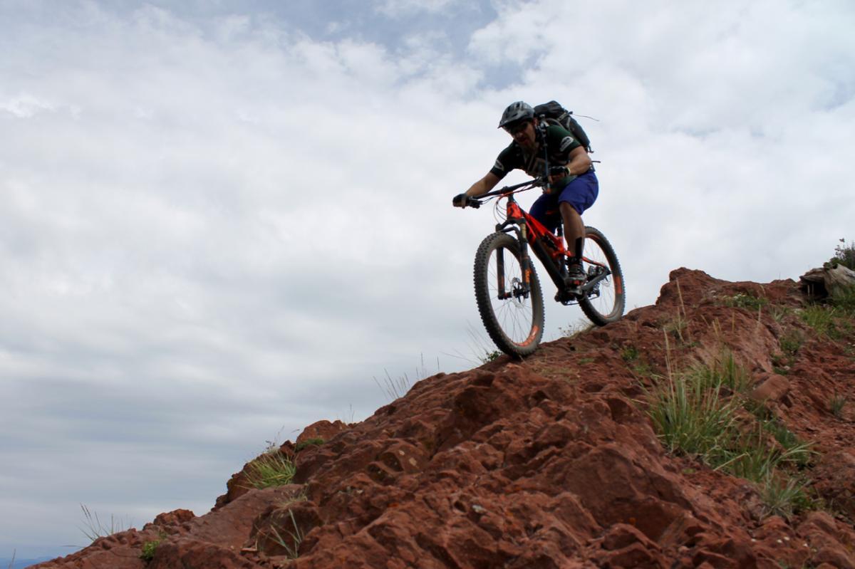 Rider: Greg Heil. Photo: Jason Sumner.