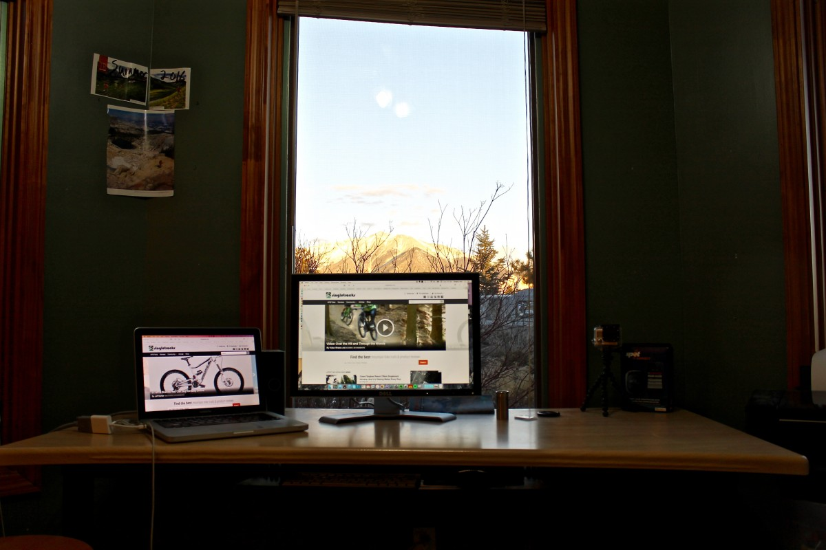 Greg's home office in Colorado.