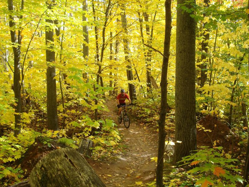 I rode South Marquette in mid-August.  Judging by DjSmooth's picture here, I need to go back in the fall as well!