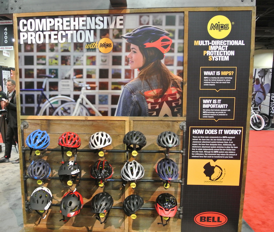 The helmets available with MIPS from Bell