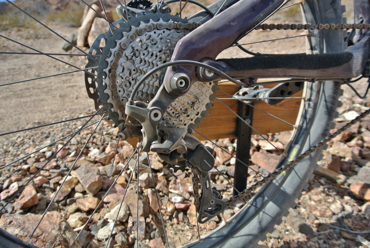 The excellent Shimano XT 11-speed