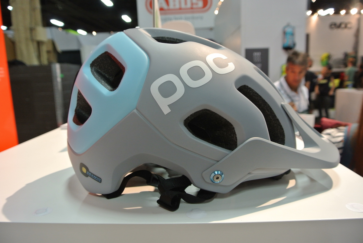 The new POC Tectal trail helmet