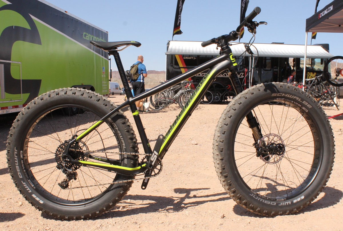 Cannondale Launches New Fat Caad Fat Bike With Fat Specific Olaf