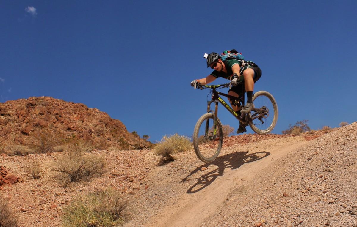 Taking the Altitude through a dip (photo: Greg Heil)