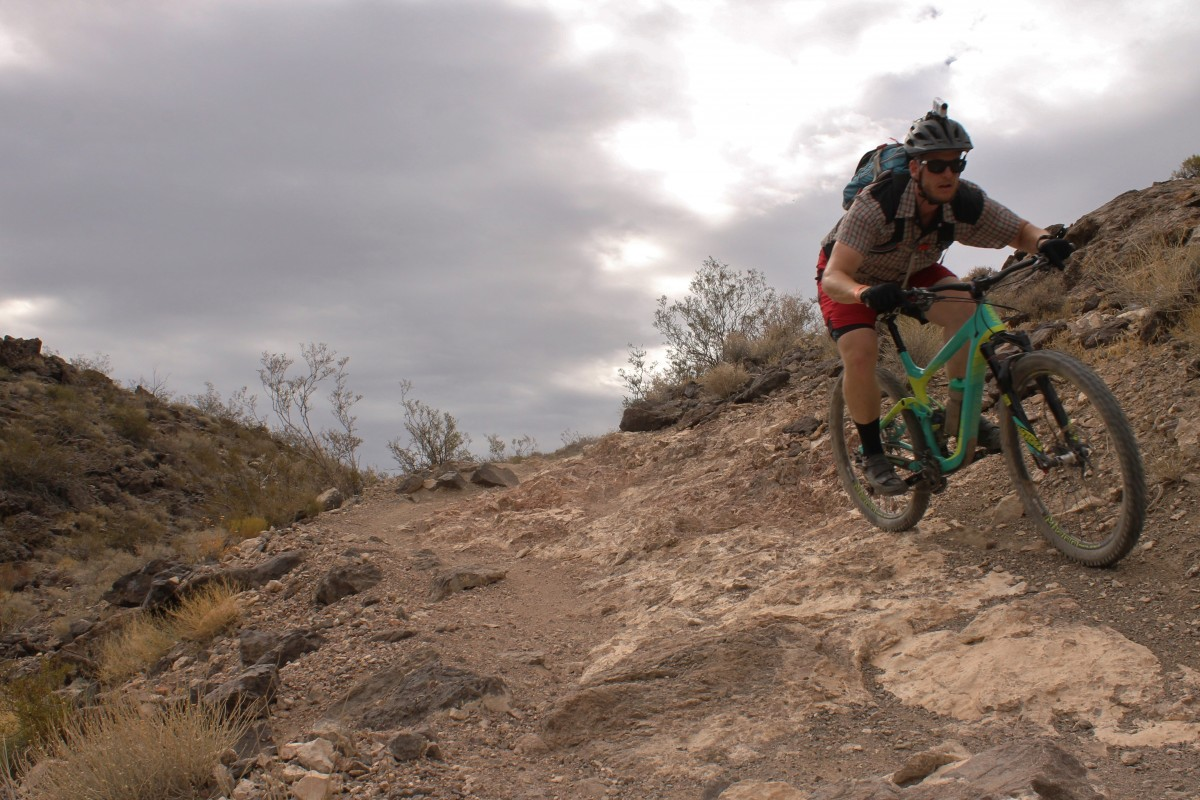 Getting after it on the Boy Scout trail (photo: Greg Heil)