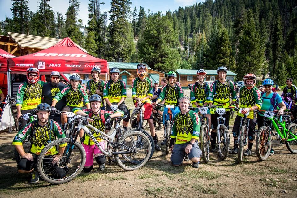 Caption: My awesome teammates from The Path Bike Shop! Love these people! Photo Credit: Scott McClain of Called to Creation