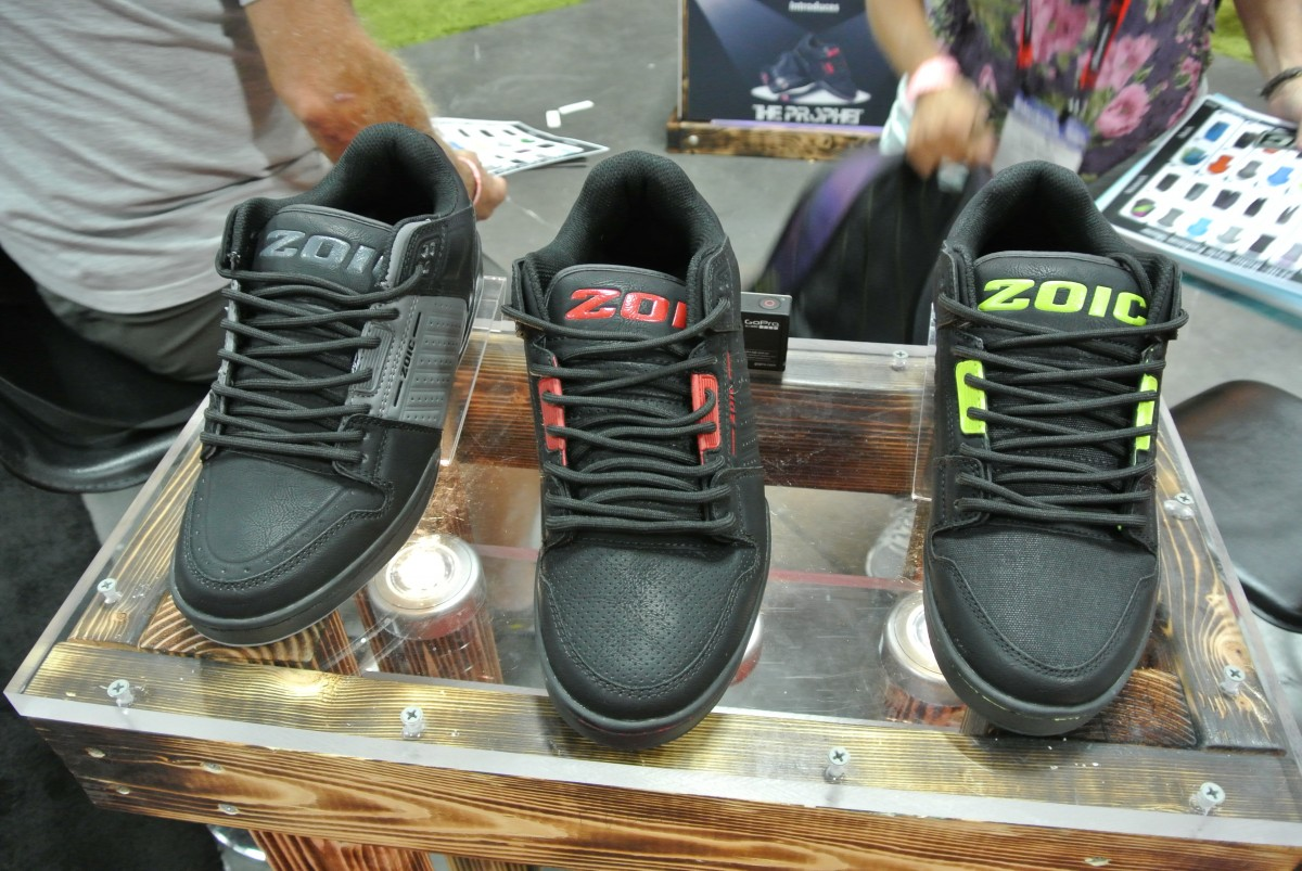 Zoic is collaborating with Osiris on a new line of MTB shoes for 2016