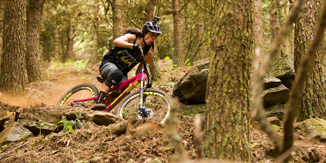Ratboy making silly faces and destroying berms in Maidera (photo: Santa Cruz)