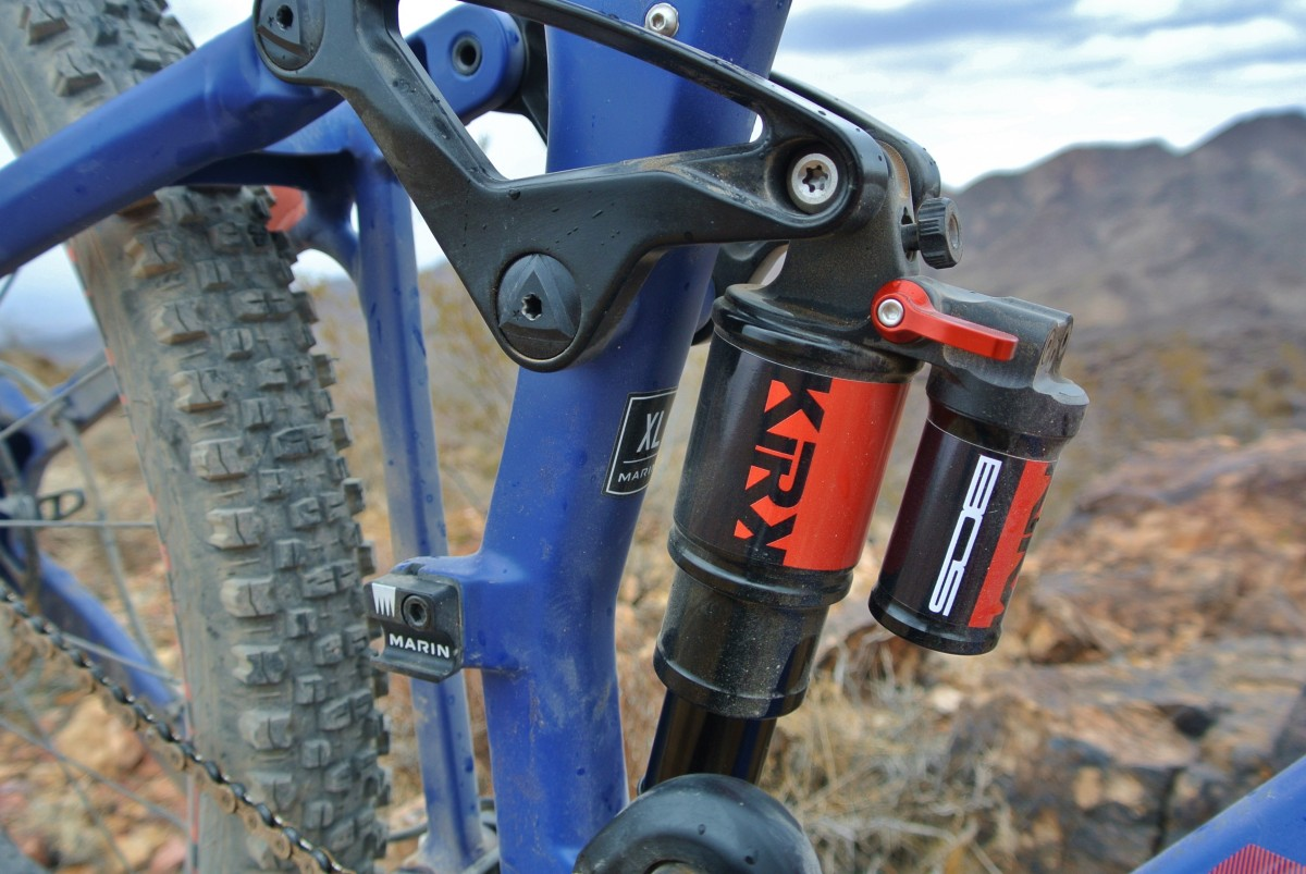 This BOS Suspension Kirk shock was smooth, supple, and quiet