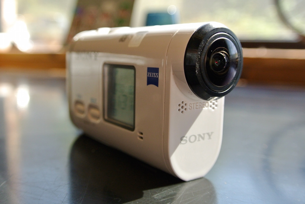The Sony 4K Action Cam