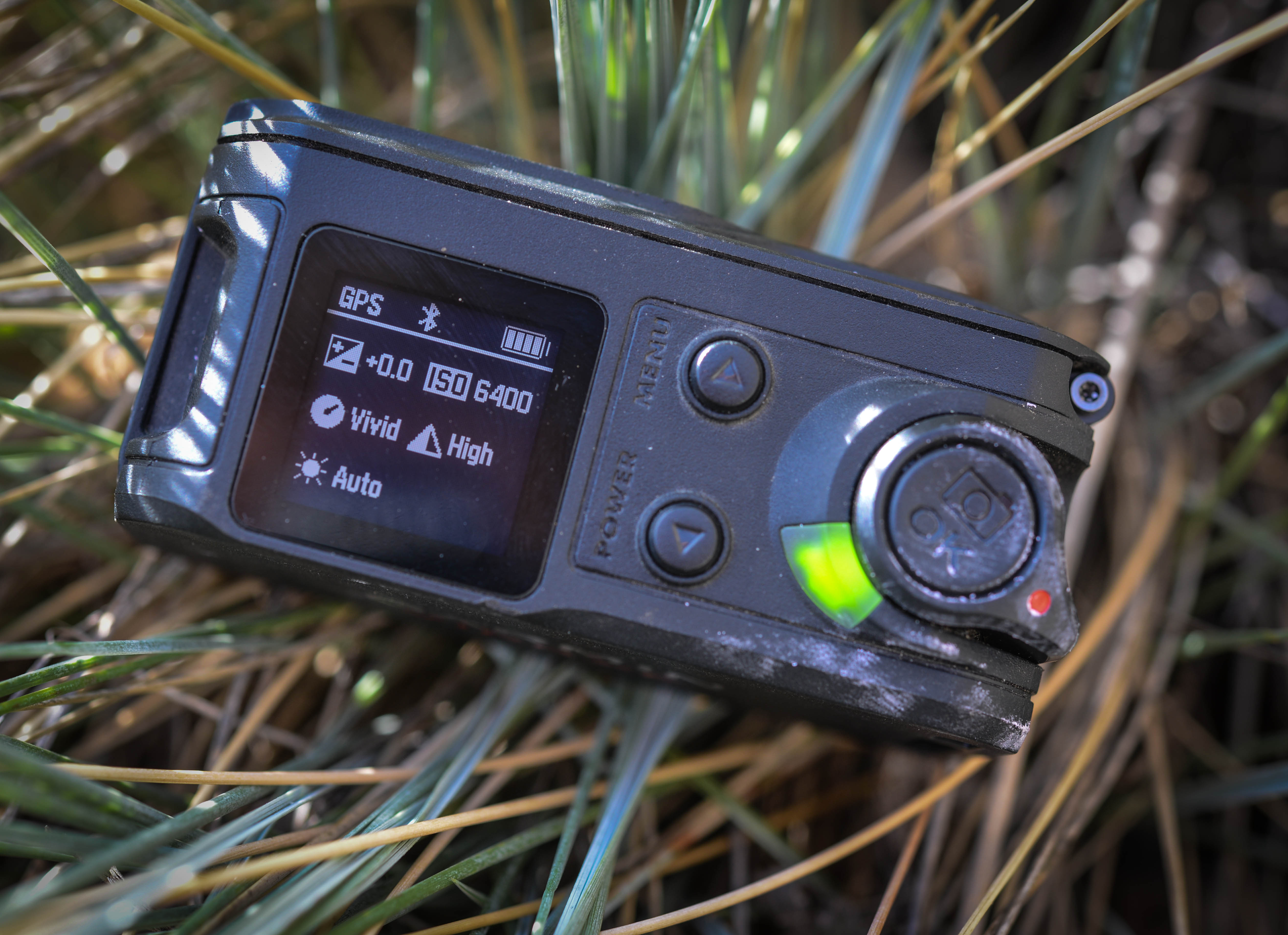 The VIRB lacks a viewfinder, and the LCD menus can be complicated to use if you are in a hurry.