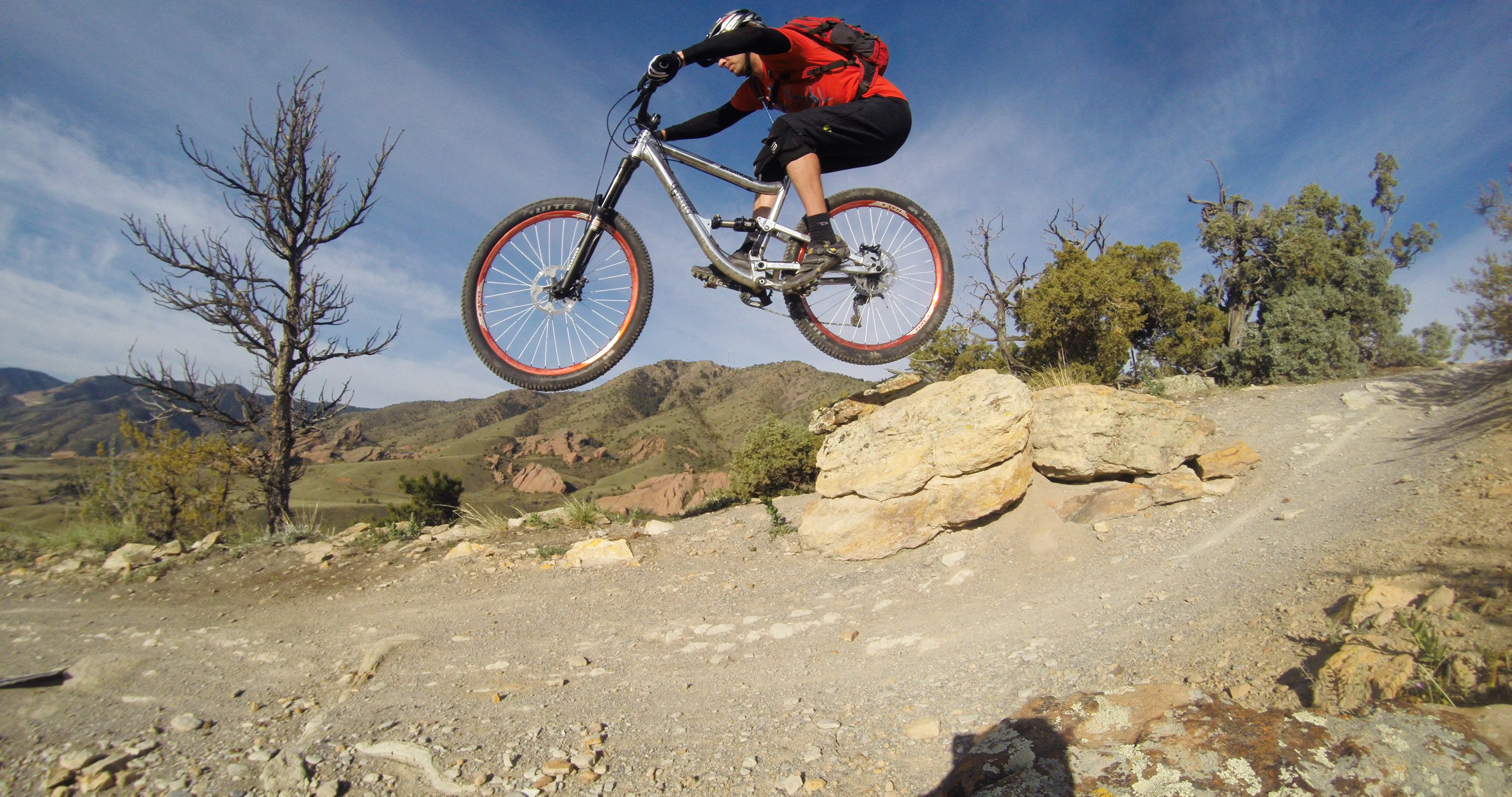jkldouglas tests this bike on Dakota Ridge