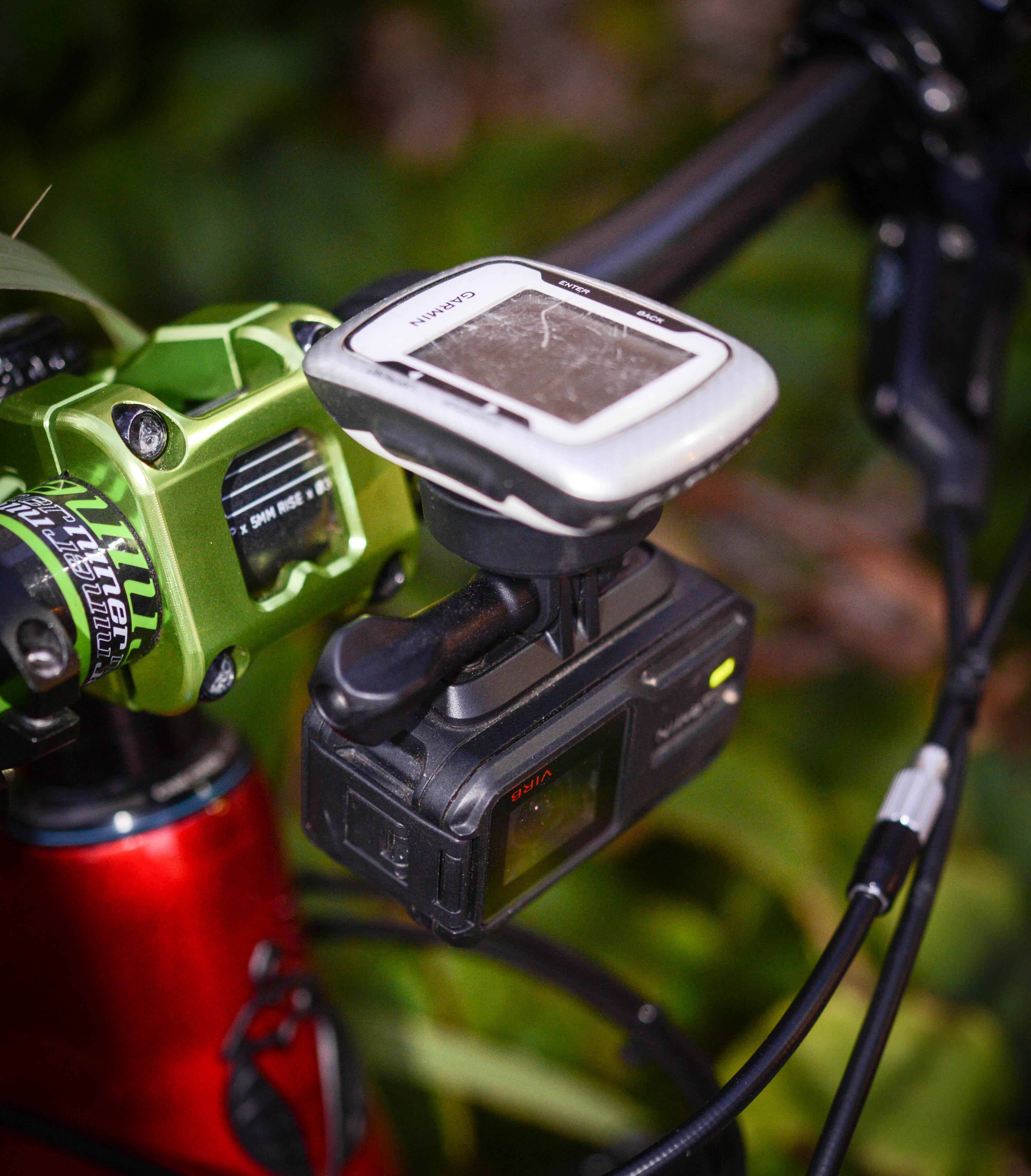 garmin combo mount review singletracks mountain bike news. Black Bedroom Furniture Sets. Home Design Ideas