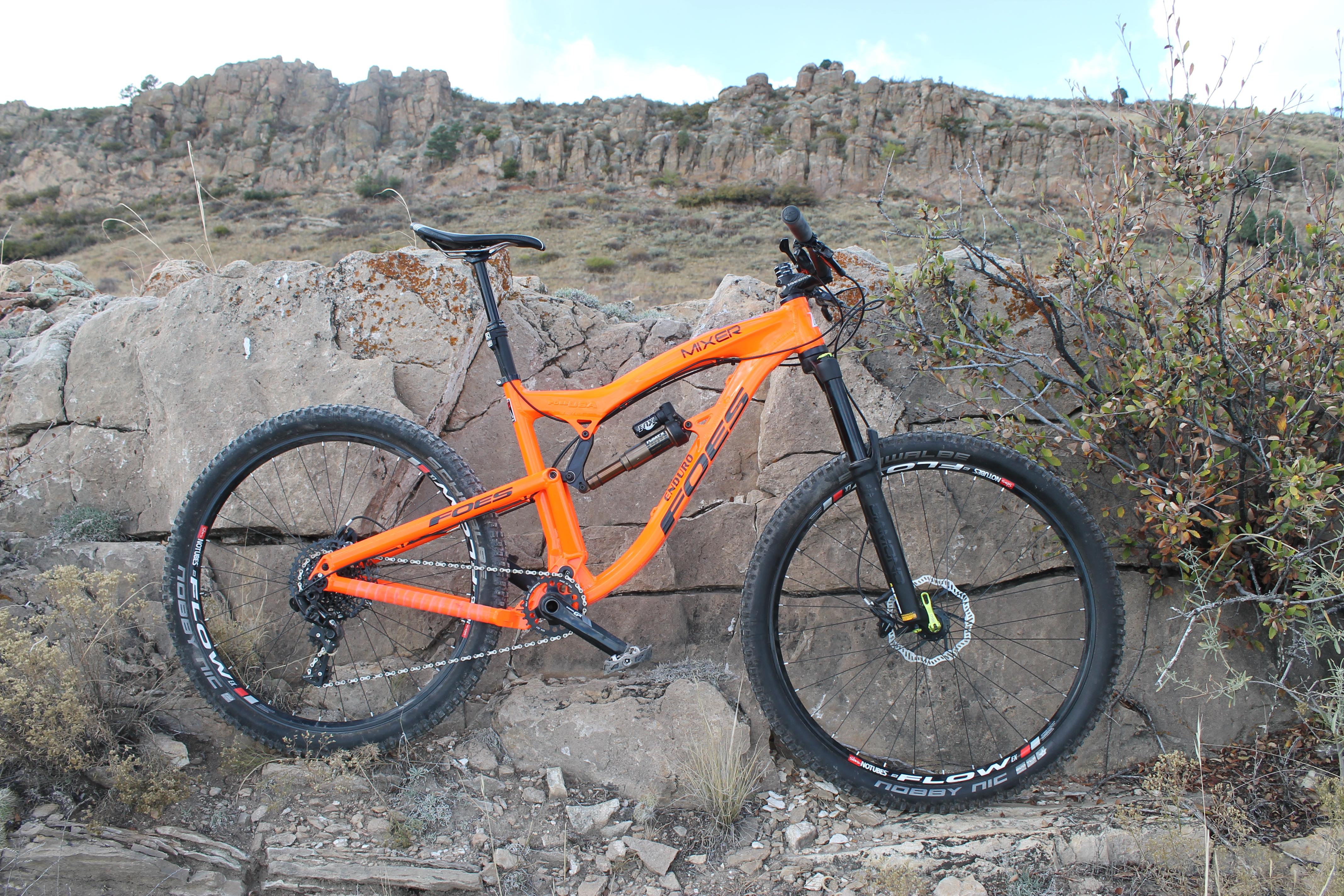 On Review The Foes Mixer Enduro Singletracks Mountain Bike News