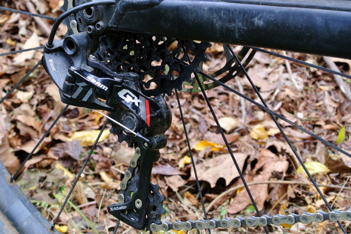 The GX rear derailleur in particular looks very similar to its higher-priced siblings