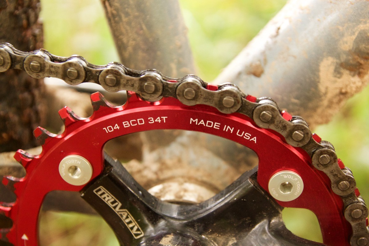 Chain Wolf Tooth Components 104 BCD Chainring for Shimano 12spd Hyperglide