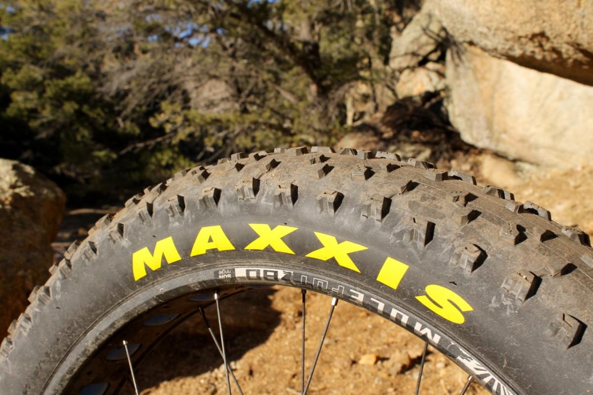 Maxxis Colossus. Photo: Greg Heil