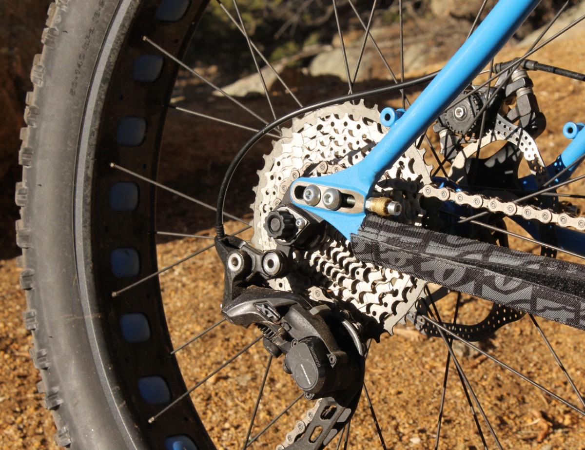 Rear dropouts. Photo: Greg heil
