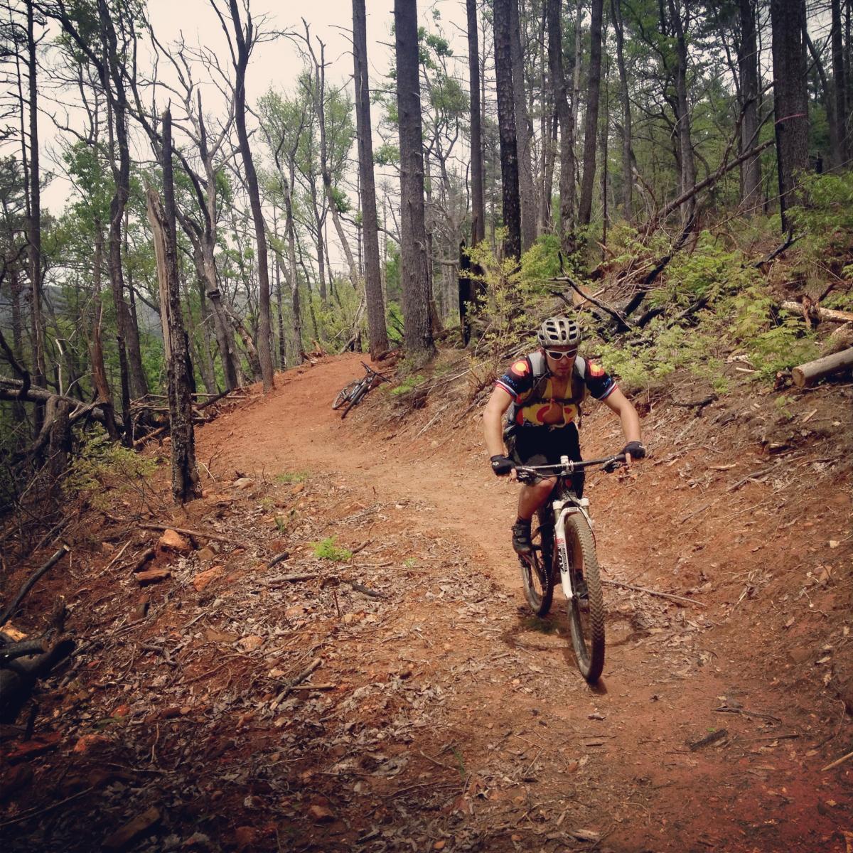 Rider: Greg Heil. Photo: Ben.