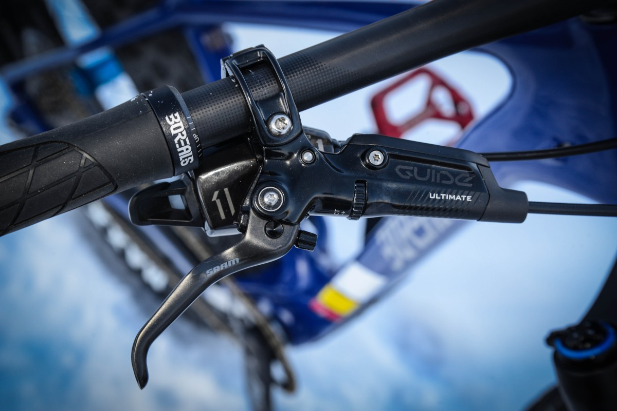 SRAM Guide RSC brakes are the perfect brake for aggressive fatbike riders