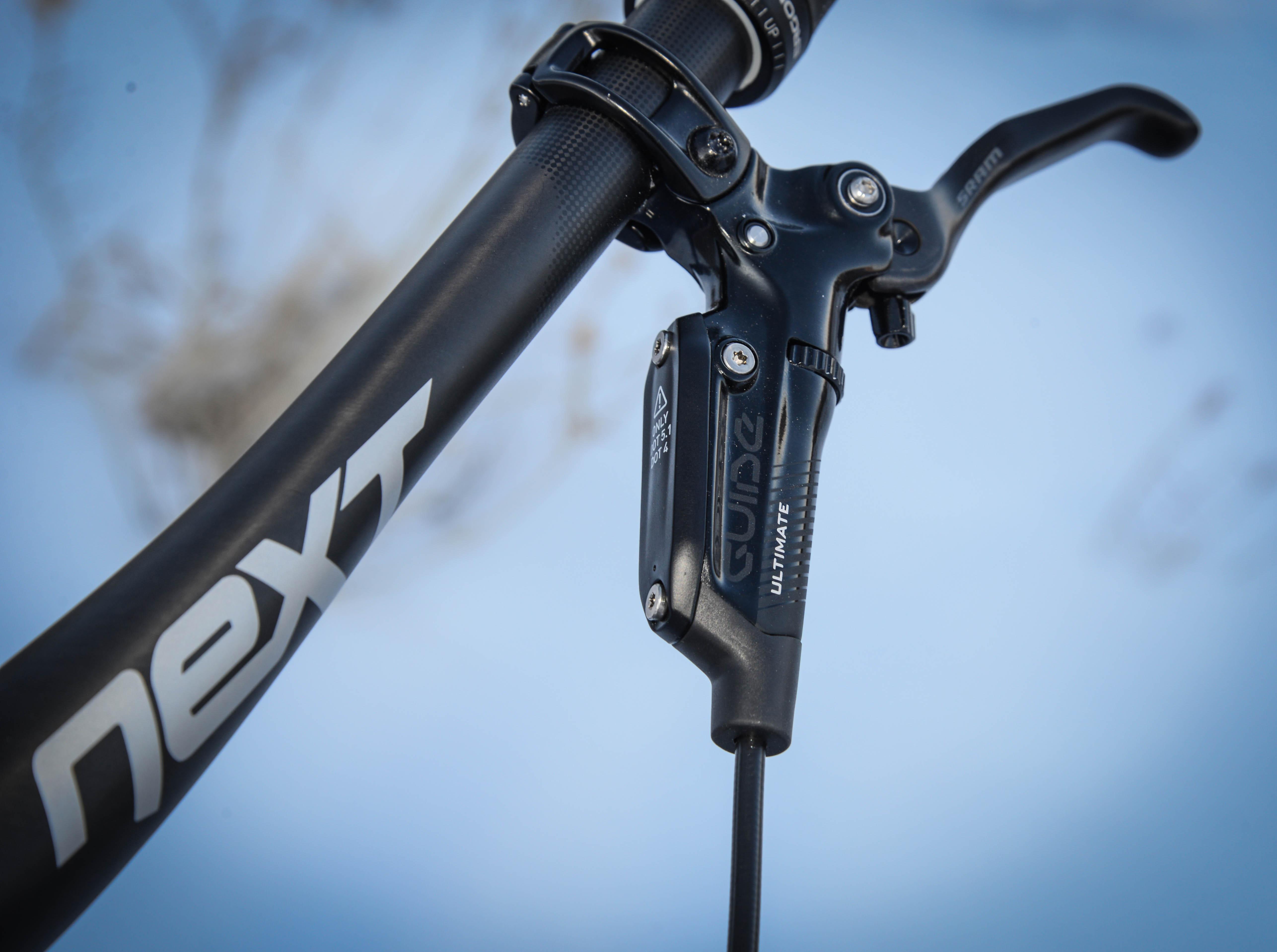 On Review Borealis Crestone Xx1 Fat Bike Singletracks Mountain Honda Zoomer X Wiring Diagram Sram Guide Rsc Brakes And The Next Carbon Bar
