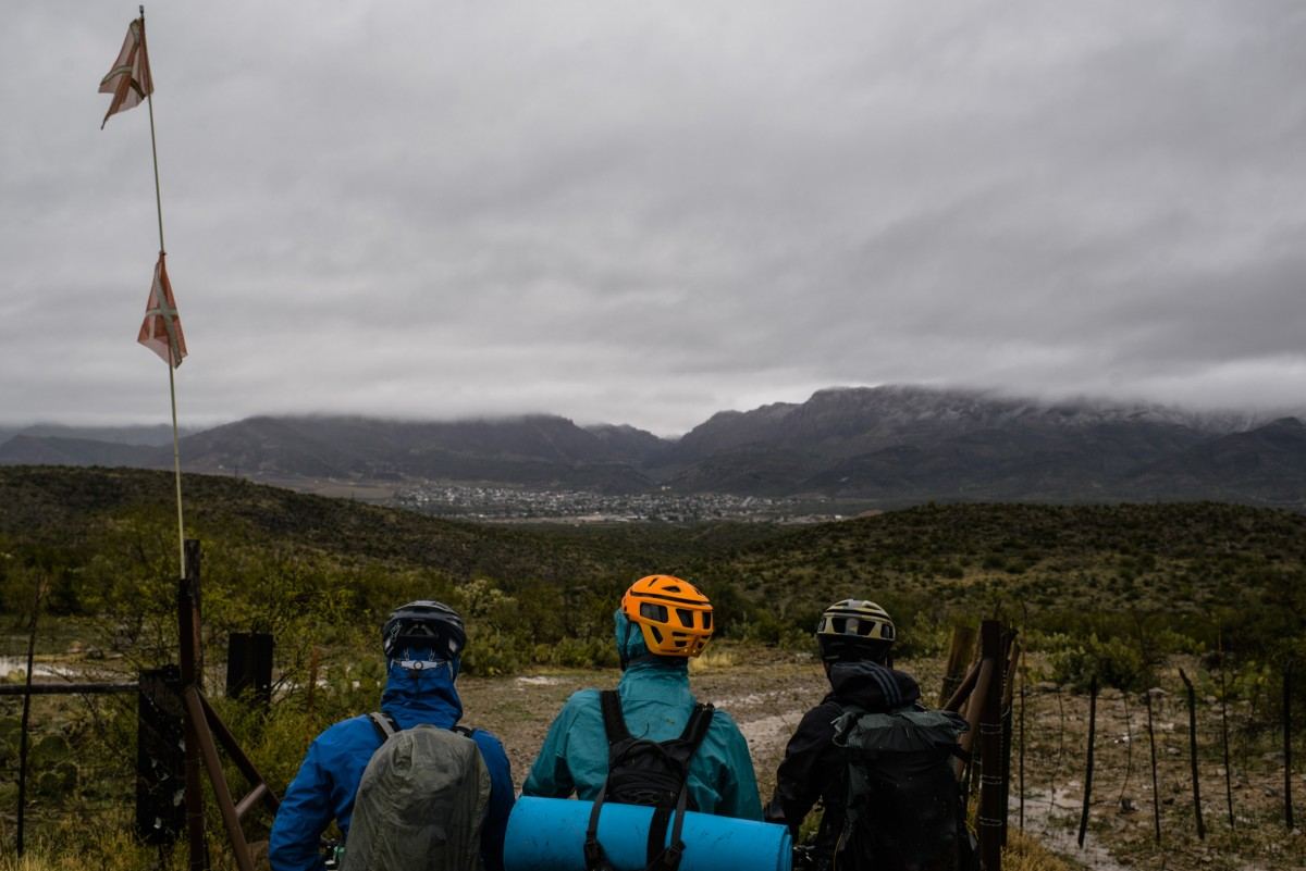 """Photos of bikepacking, mountain biking, bike tour, camping, outdoor recreation, Chumba Cycles, Arizona Trail, Gila River Ramble, taken in Tucson, Oracle, Superior, Florence, at Arizona Trail, Arizona for Everything Will Be Noble's """"Stay Warm or Die Trying"""" article. www.everythingwillbenoble.com All photos ©2016 Brent Knepper, for Everything Will be Noble."""