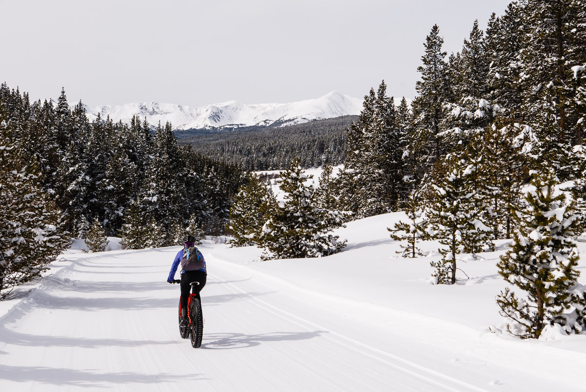Tennessee Pass Nordic ski trails