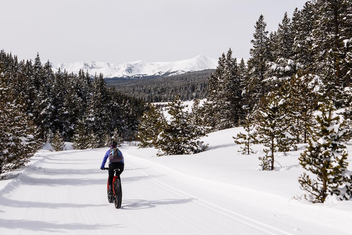 Tennessee Pass Nordic ski trails
