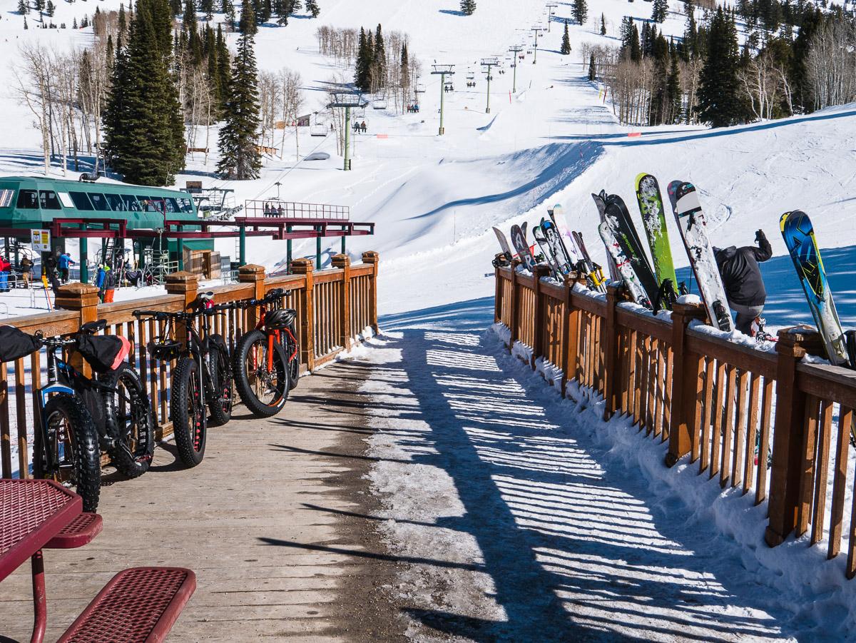 Wydaho In The Winter Part Fat Biking And Skiing Grand Targhee - Grand targhee resort