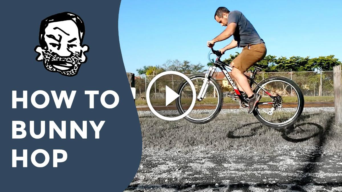 How to Do a Mountain Bike Bunny Hop