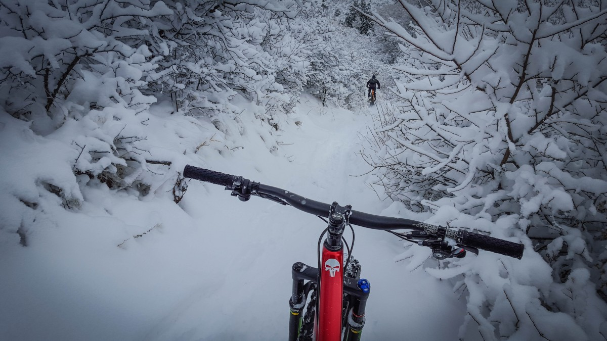 There's nothing like a fast, smooth descent in well-packed powder