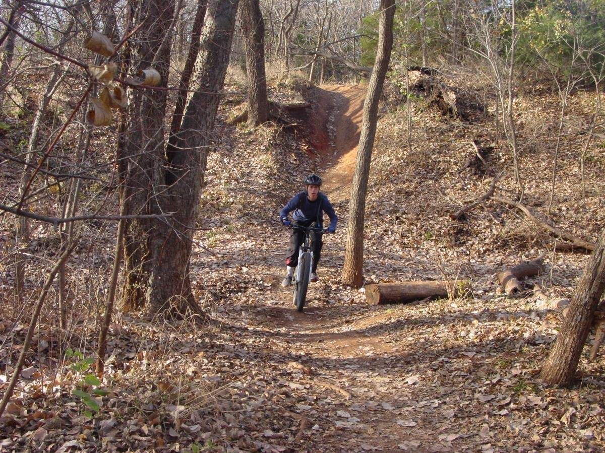 Bluff Creek Trail. photo: John Fisch.