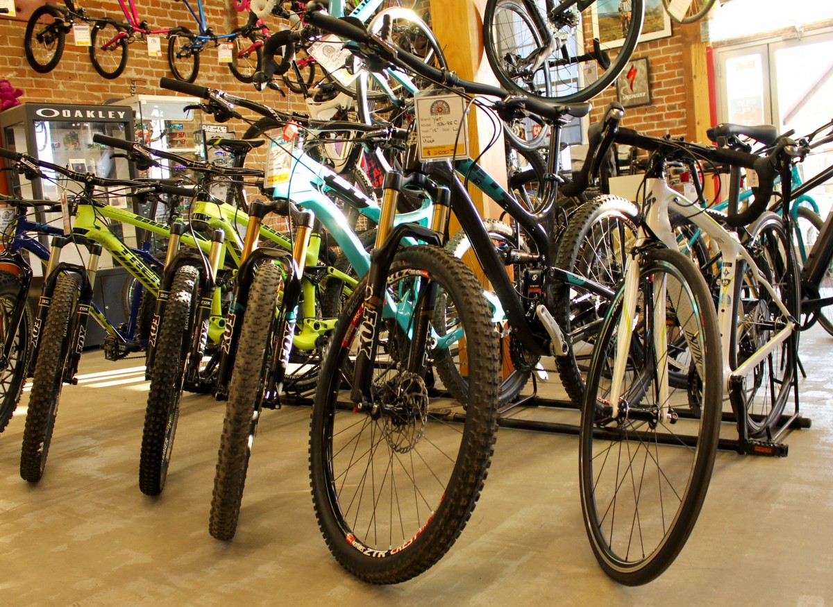Absolute Bikes, Salida, Colorado. Photo: Greg Heil