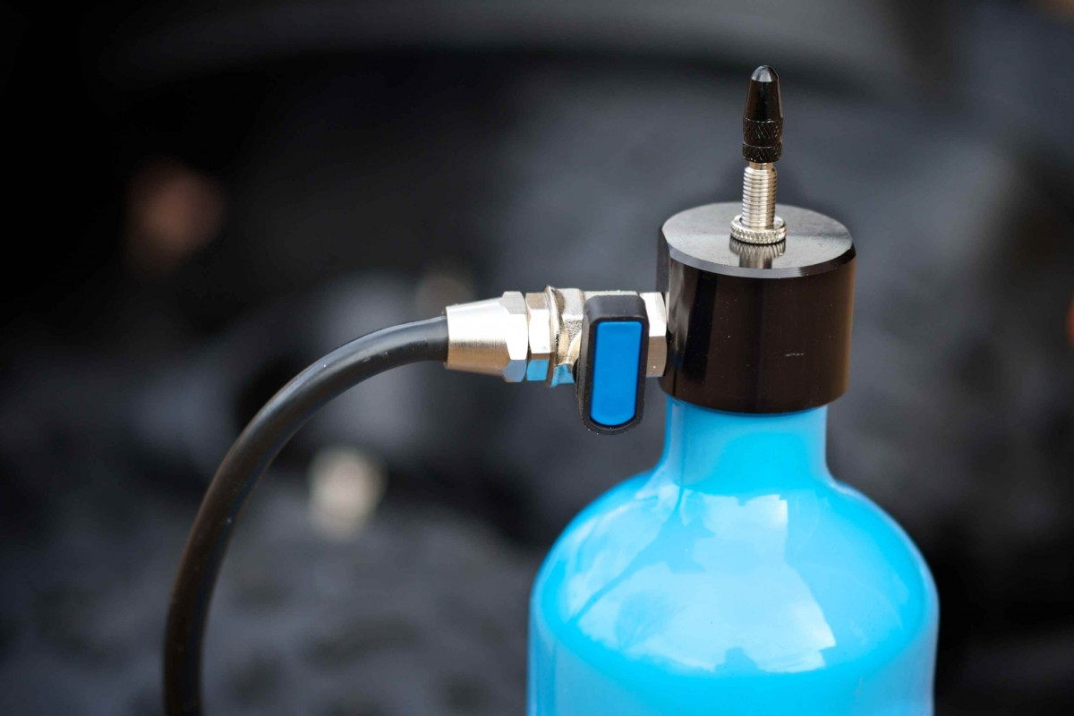 A clever alternative to the compressor, Airshot's rechargeable air canister works better than expected.
