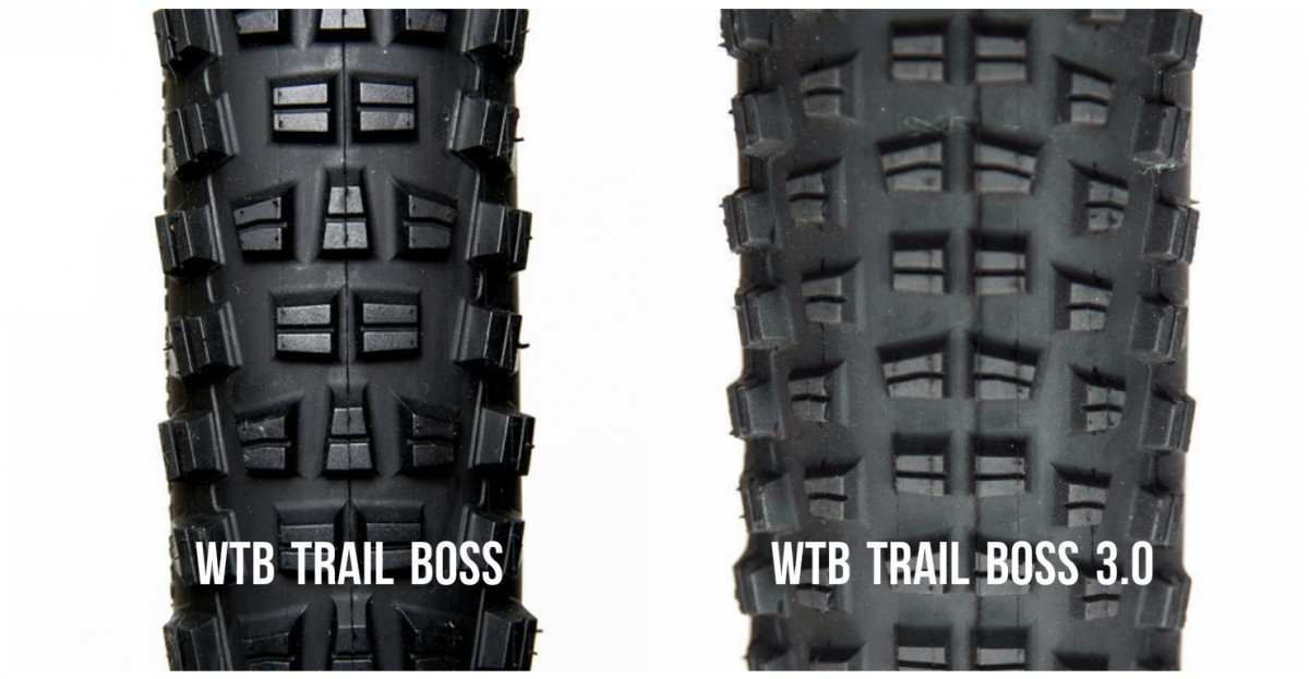 A look at the standard Trail Boss (left) and the the Trail Boss 3.0 (right)