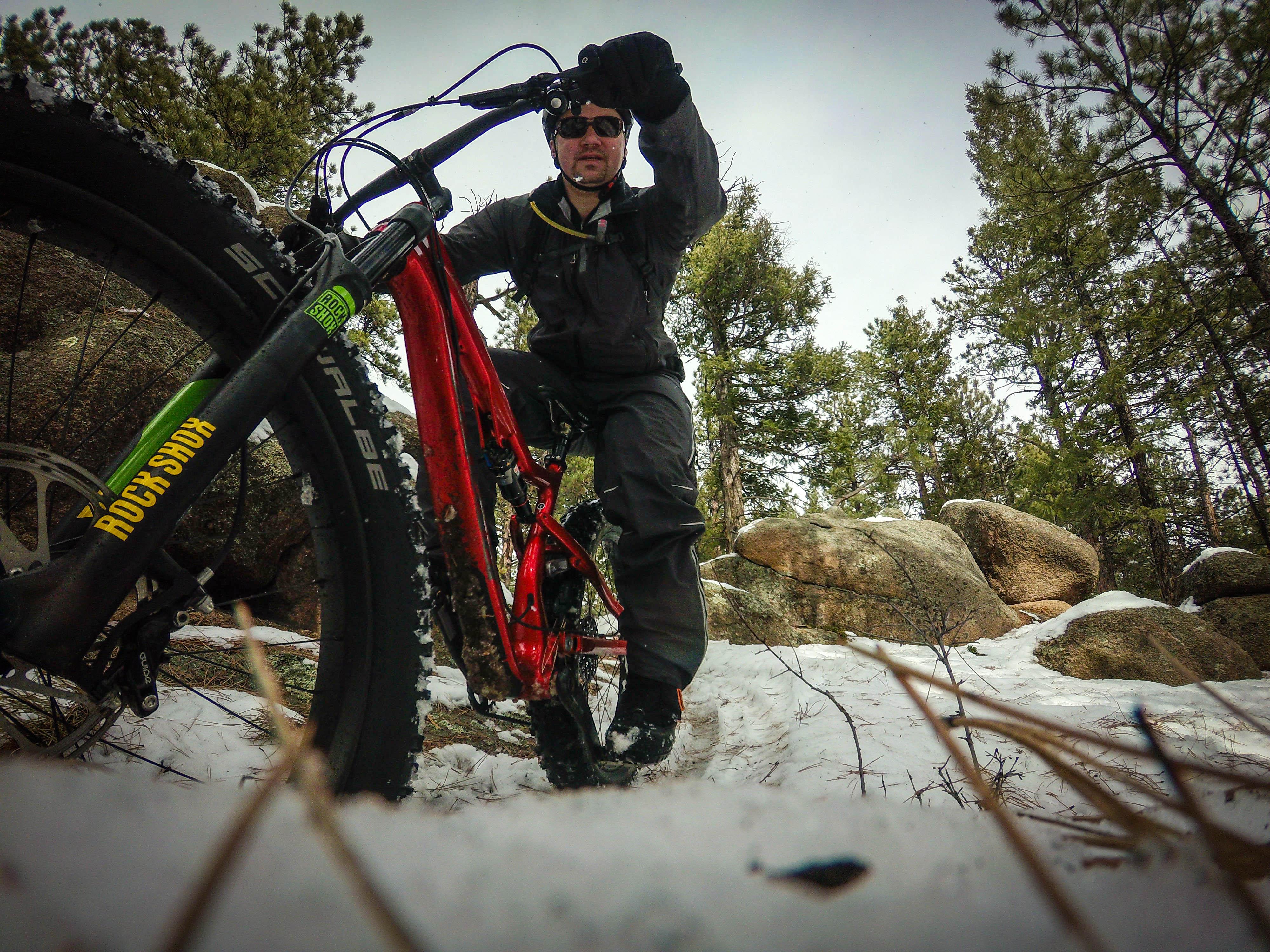 trail report  fat biking buffalo creek  colorado  in the
