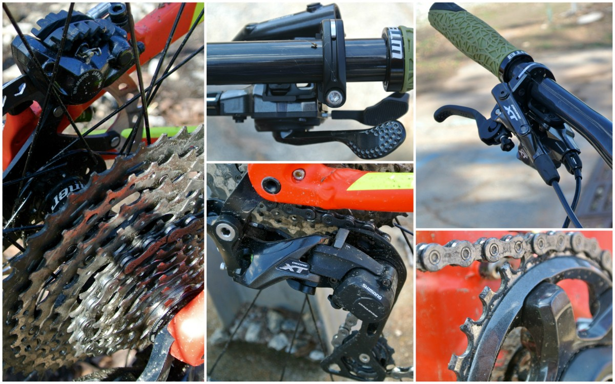 Shimano's new XT group performed well overall, but was not without flaws