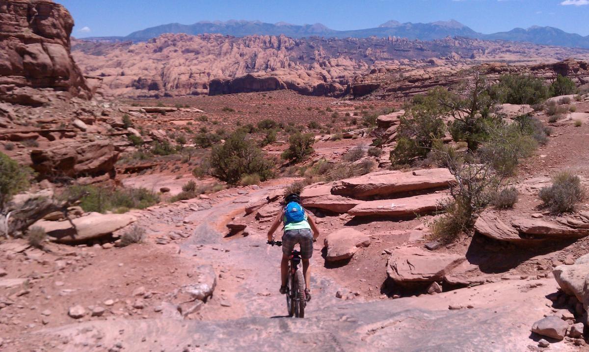 Riding Amasa Back. Photo: kellyrides