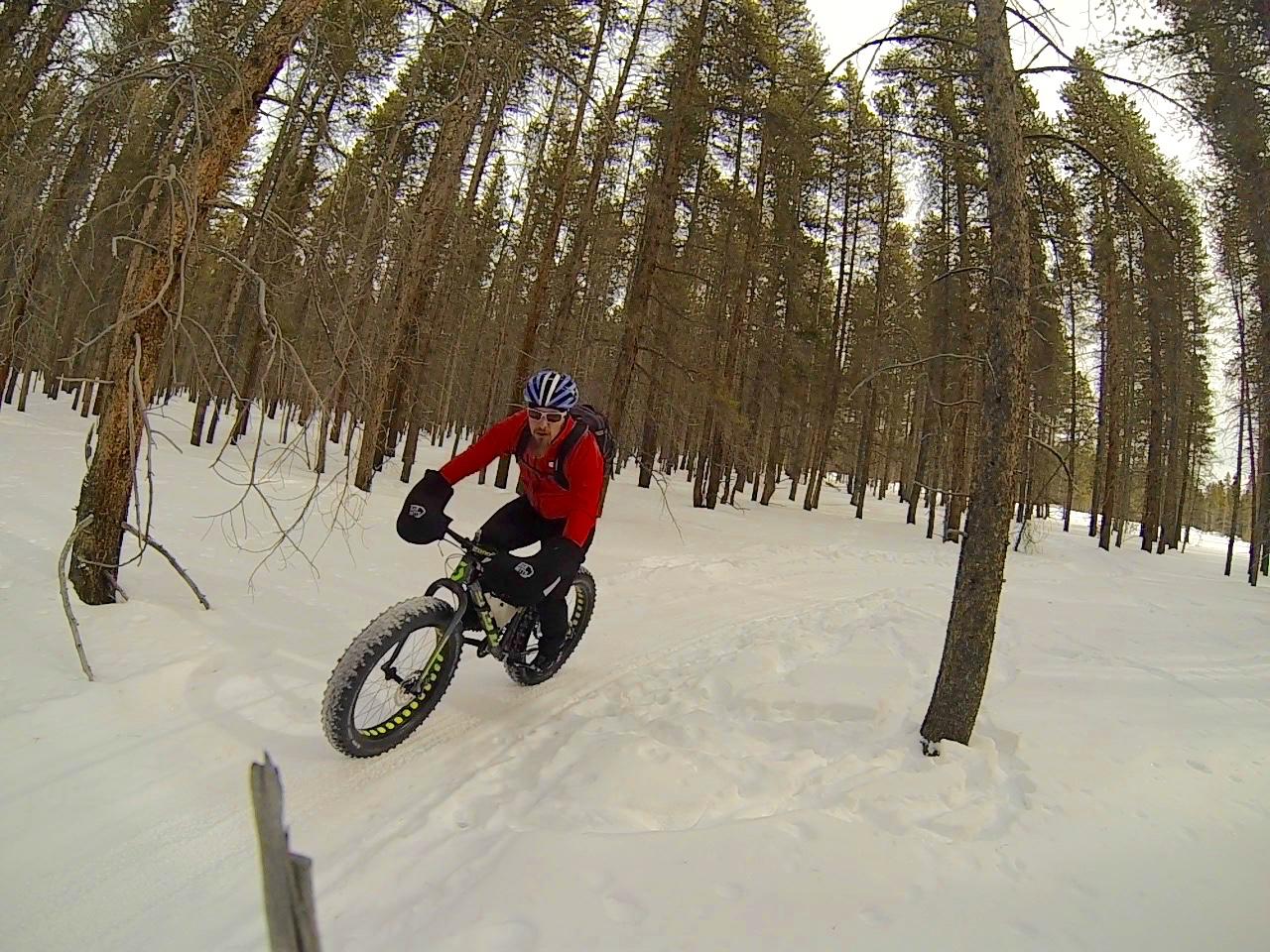 finger downhill bike