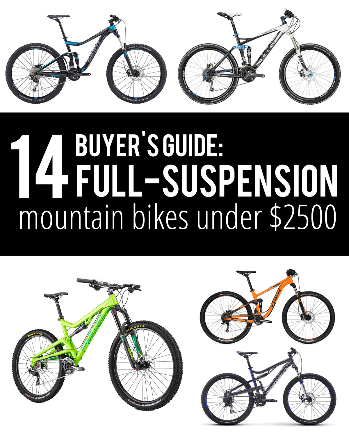 Buyer S Guide To Wardrobes: Buyer's Guide: Budget Full Suspension Mountain Bikes