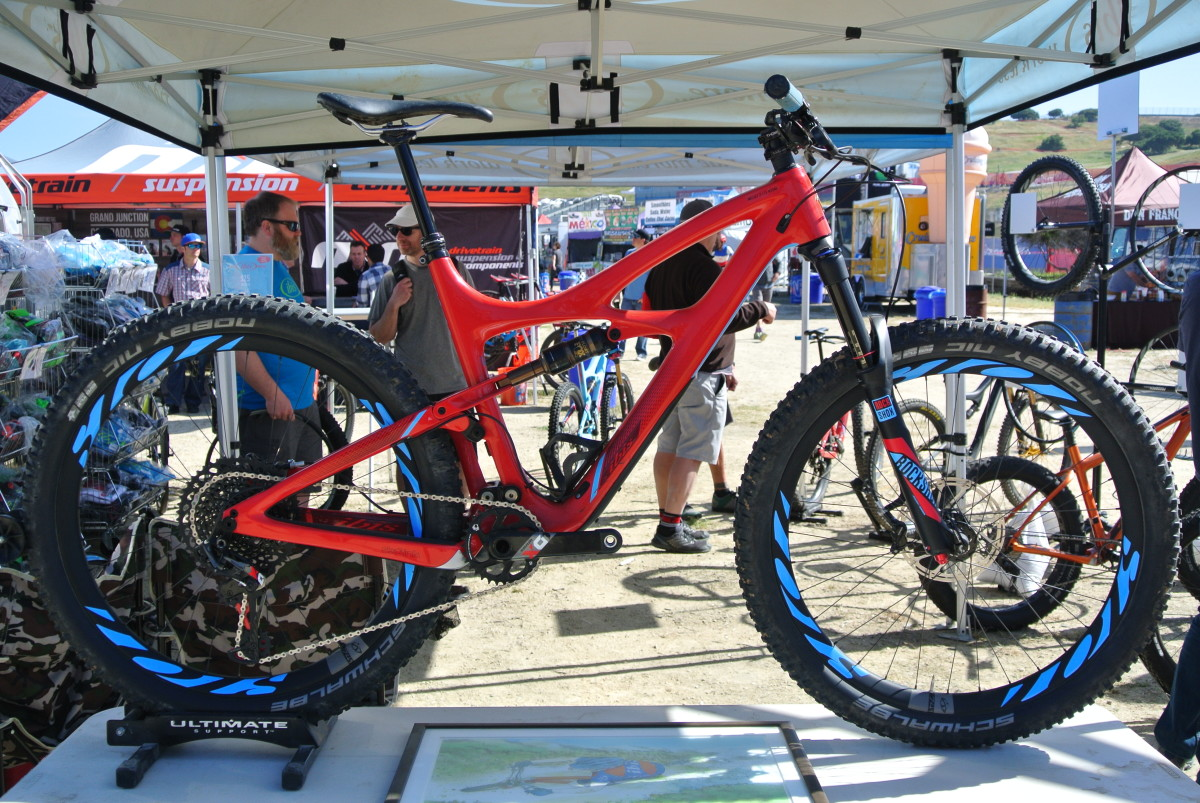Ibis' latest bike, the Mojo 3