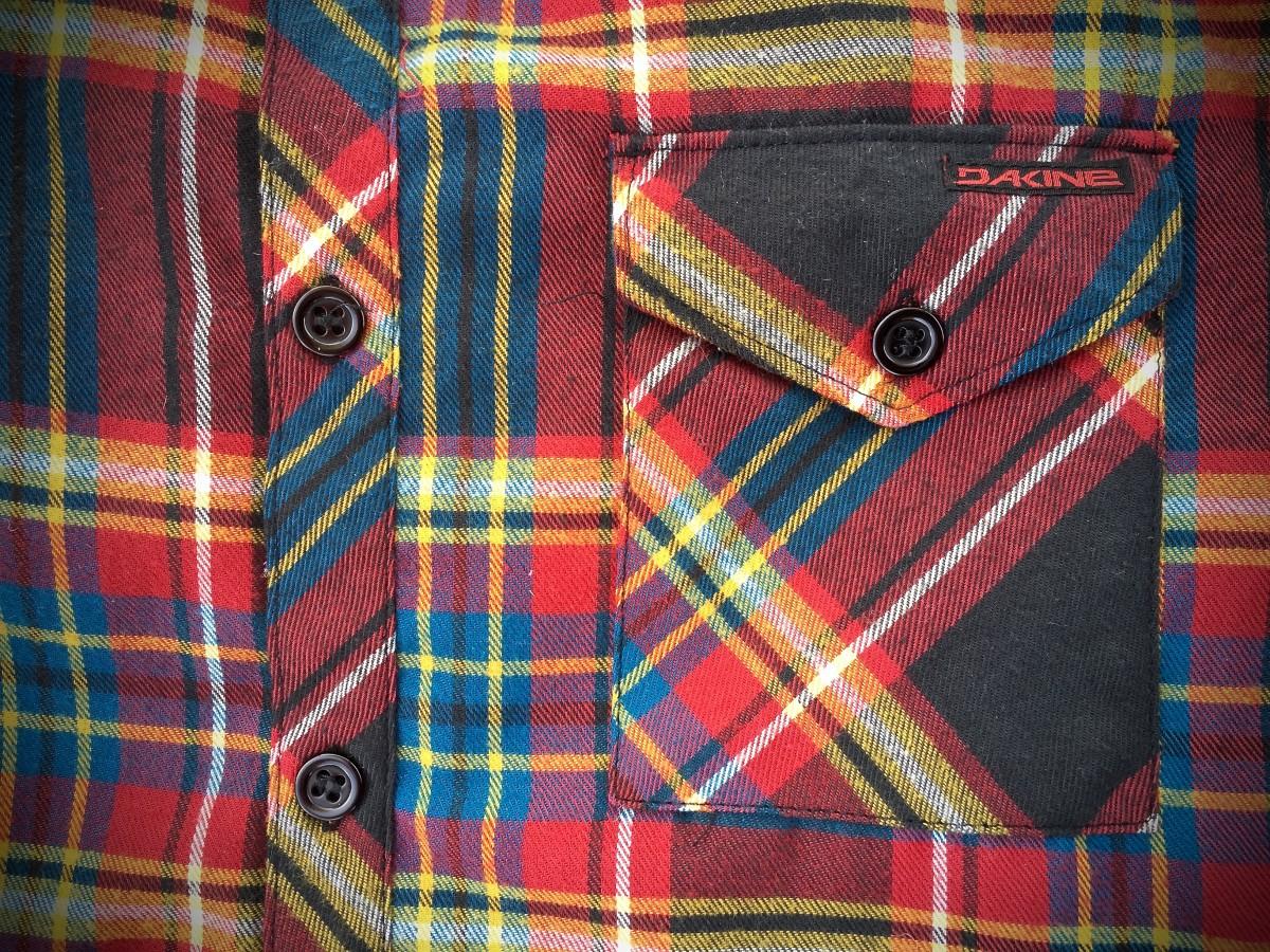 dakine oakridge flannel