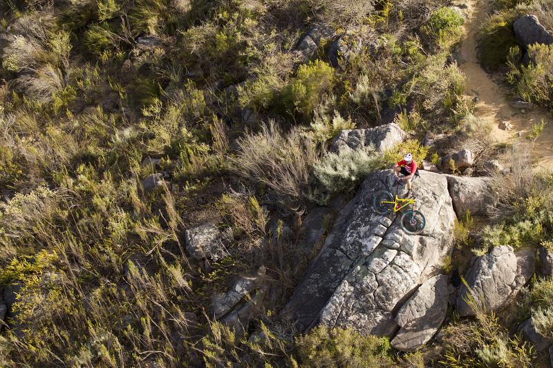 Greg Minnaar in Ceres, Koue Bokkeveld in South Africa (photo: Santa Cruz)