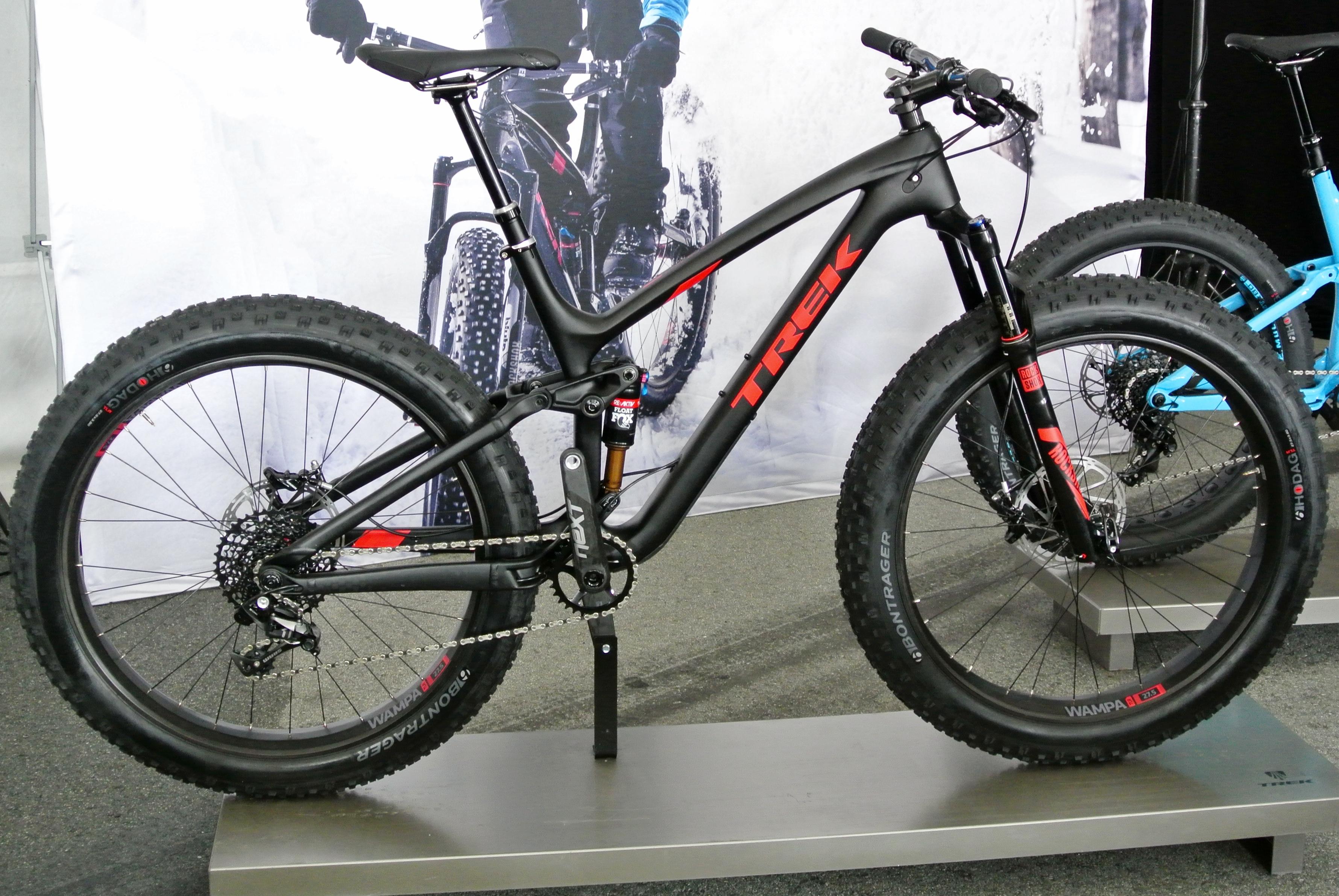 Trek Launches All New Full Suspension Fat Bike The Farley Ex