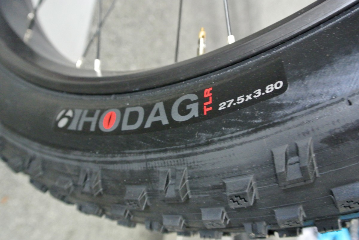 Bontrager Hodag 27.5x3.8 tires will come on both versions of the Farley EX