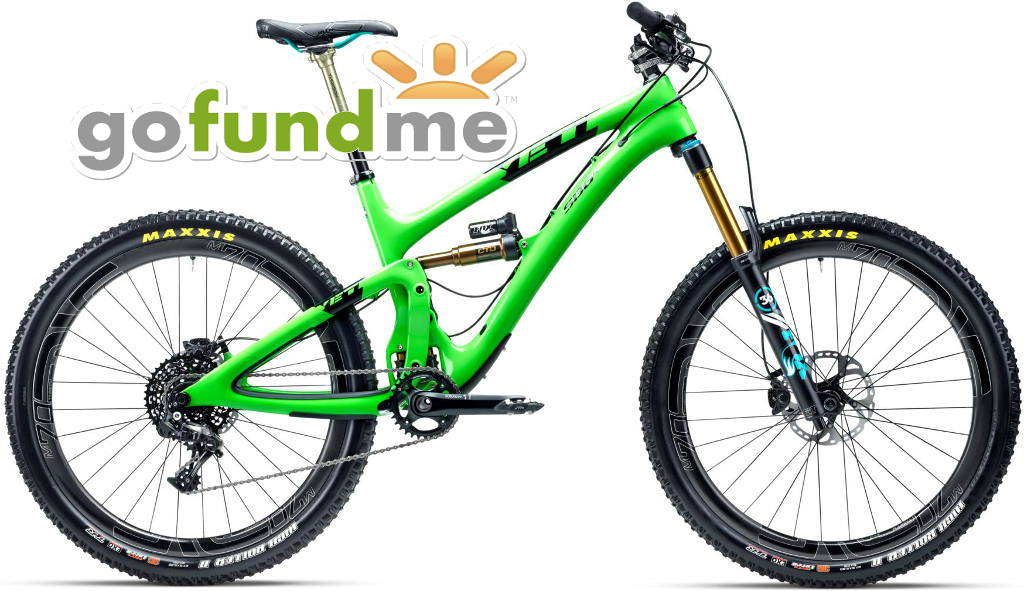 Over a Beer: Do NOT Start a GoFundMe For Your Next MTB ...