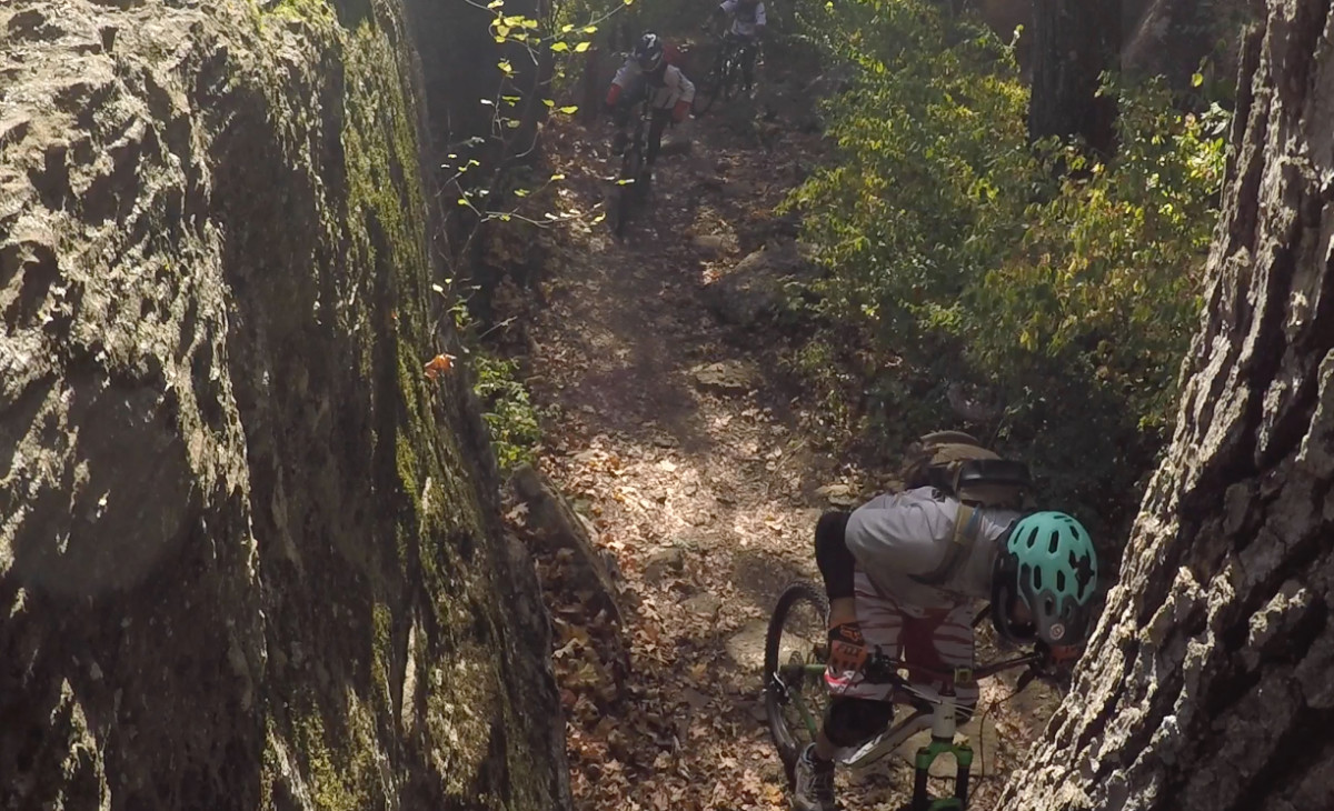 "The walls at Mt. Kessler will test your ability to ""thread the needle."""