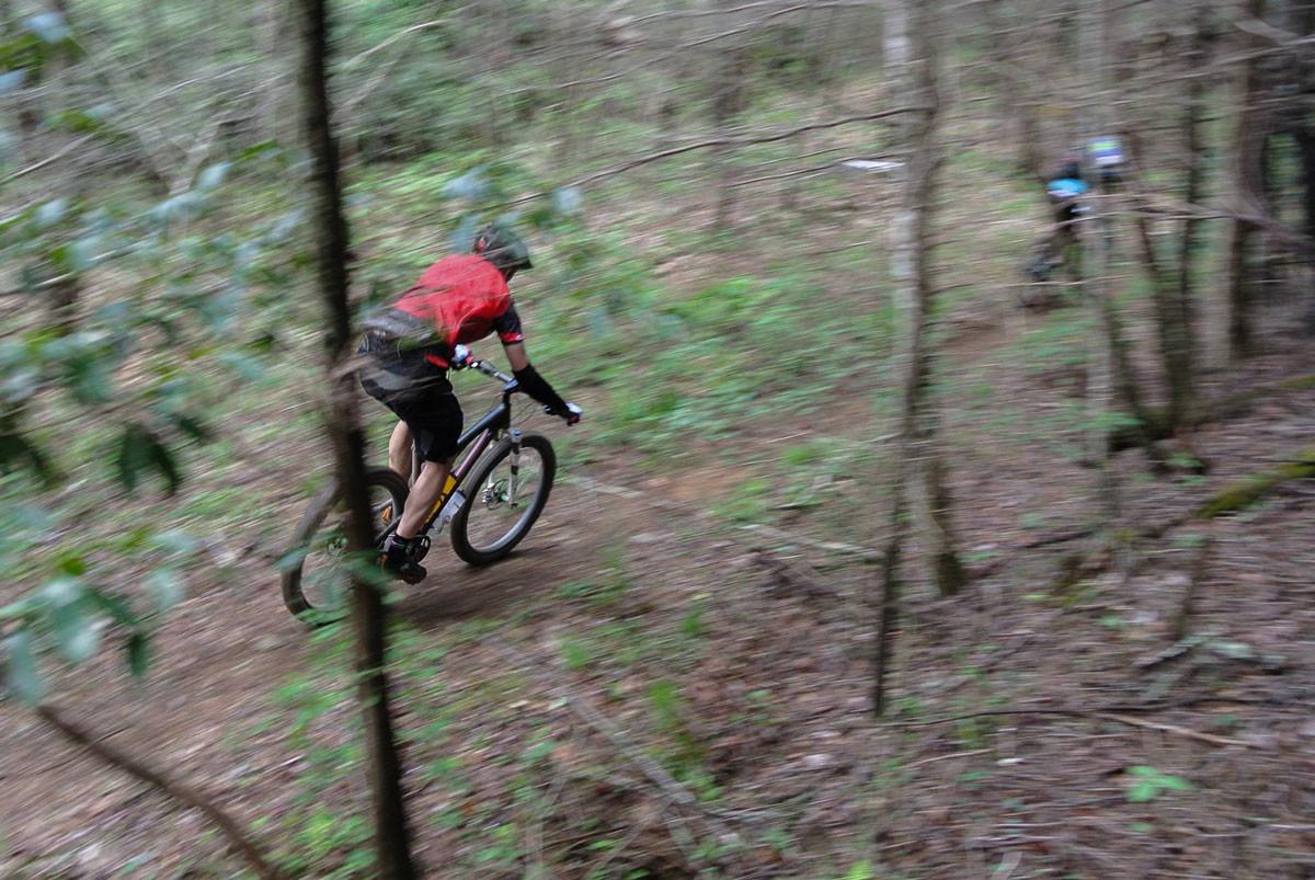 Rider: me. Photo: Aaron.